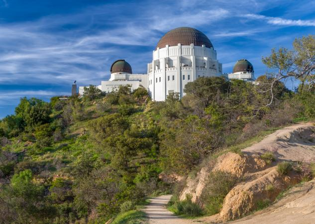 Griffith Park Observatory and hiking trail