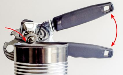 Aluminum Can And Opener
