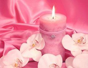 Pink Magic Candle