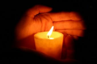 Making a Prayer Candle