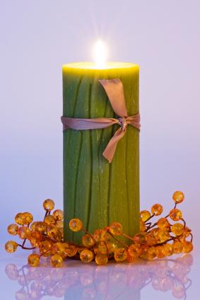 Richly Scented Candle