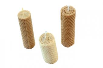 Rolling and Decorating Beeswax Candles