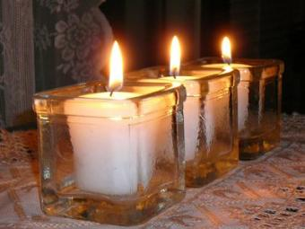 Colored Votive Candles