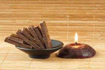 Brown Decorative Candles