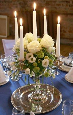 Pictures of Candle Centerpiece Ideas