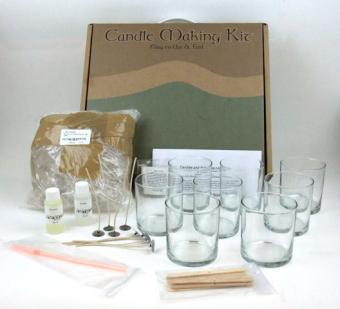 Gel candle making kit