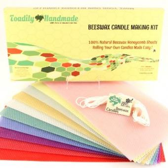 Beeswax Candle Rolling Kit at Amazon.com