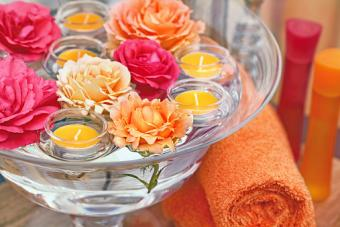 Make Your Own Floating Candle Holders