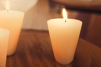 Making Sugar Cone Candles