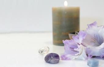 Gemstone Candle
