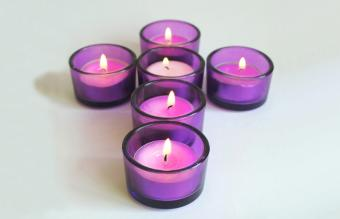 Colors and Meanings of Lent Candles