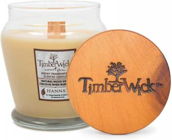 TimberWick Vanilla Brulee Soy Candle