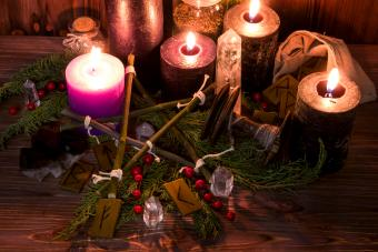 Candle magic and spellwork
