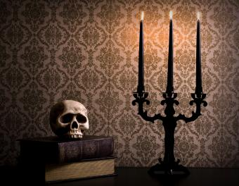 Halloween Taper Candles
