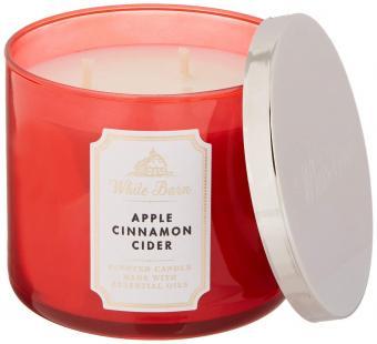 White Barn Apple Cinnamon Cider Candle