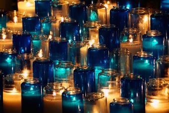 Long burning candles