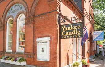 Yankee Candle Company in Williamsburg, Virginia