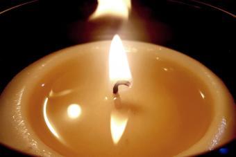 Illuminated Tea Light Candle