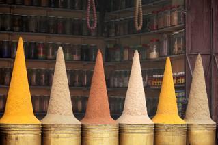 Moroccan spice shop