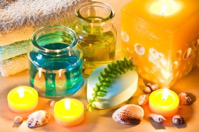Using recycled containers for candle making is both thrifty and eco-friendly.
