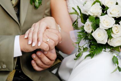 Unity candles are popular in wedding ceremonies.