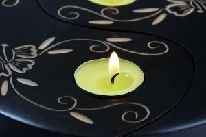 Show off your candles in a wonderful wooden candle holder!
