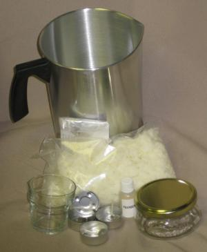 natural soy wax candle making kit