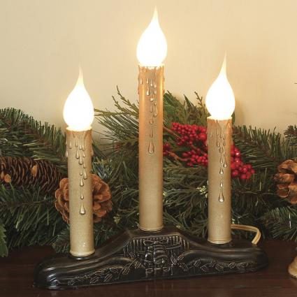 Christmas Electric Window Candles Annette Mcdermott By Triple Candolier From Lights Etc