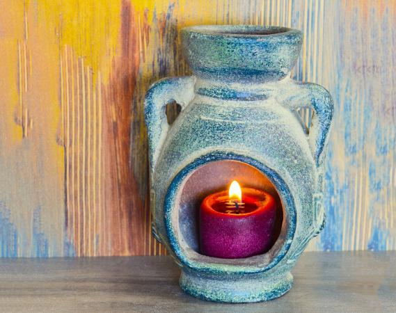 Candle Chiminea