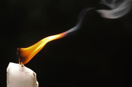 Flickering flame