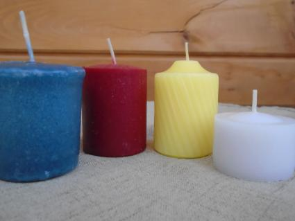 Different Color Votive Candles