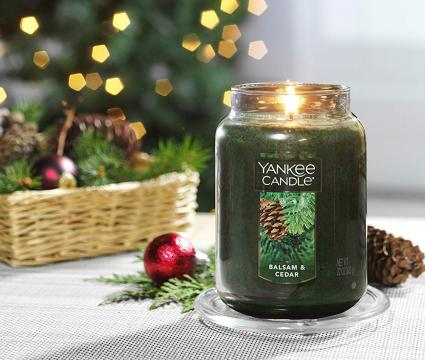 Yankee Candle Large Jar Candle Balsam & Cedar