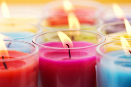 Colorfull Candles