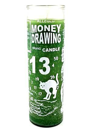 Money Drawing 7 Day Candle