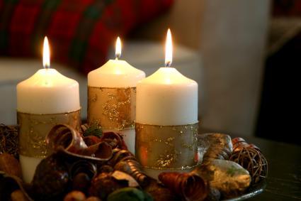 Pillar Candle Centerpiece