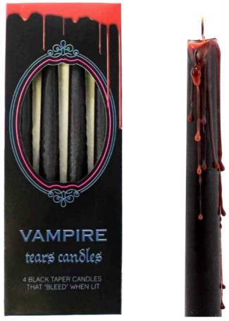 Taper Candles Gothic/Halloween - VAMPIRE TEARS