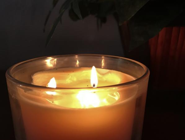 Three wick jar candle