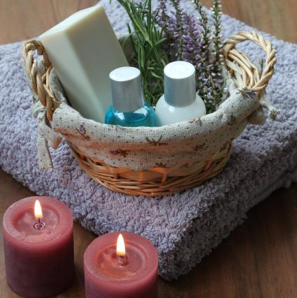 lavender organic spa-products