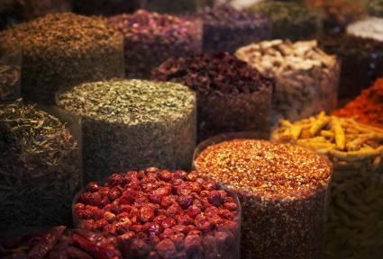 Spices at spice market