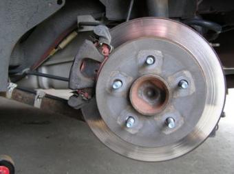 car rotor and brakes