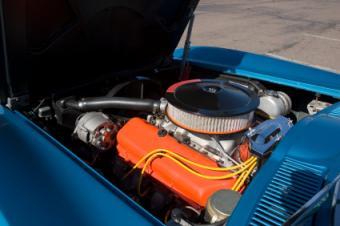 an alternator in a classic car