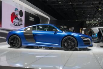Audi R8 sportscar
