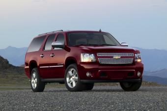2013 Chevrolet Suburban © General Motors