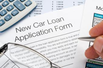 Auto loan papers