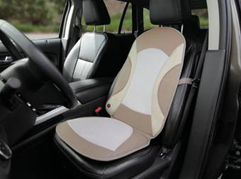 The Cooling Car Seat Pad from Hammacher Schlemmer