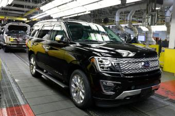 2018 Black Ford Expedition