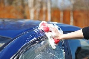 Detail Cleaning a Car