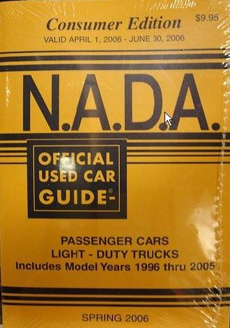 Understanding NADA Car Values