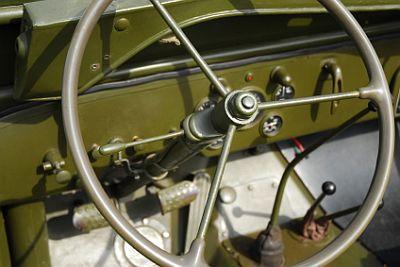 vintage jeep steering wheel