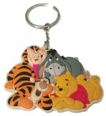 Disney Keychain Keyring - Winnie the Pooh and Friends http://www.yourwdwstore.net